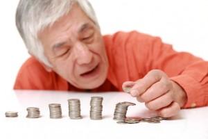 資産運用に失敗した老人