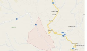 大名倉地区 地図