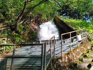 樺山発電所 滝