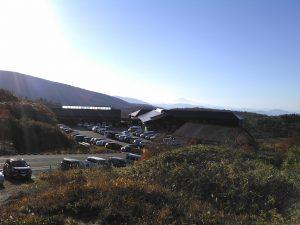 栗駒山荘 10月中旬紅葉