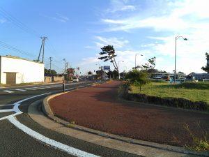 にかほ市 道の駅象潟付近