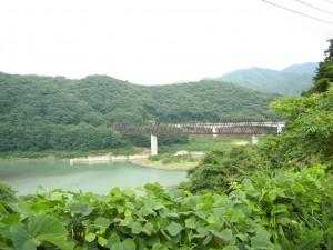 道の駅 湯西川付近