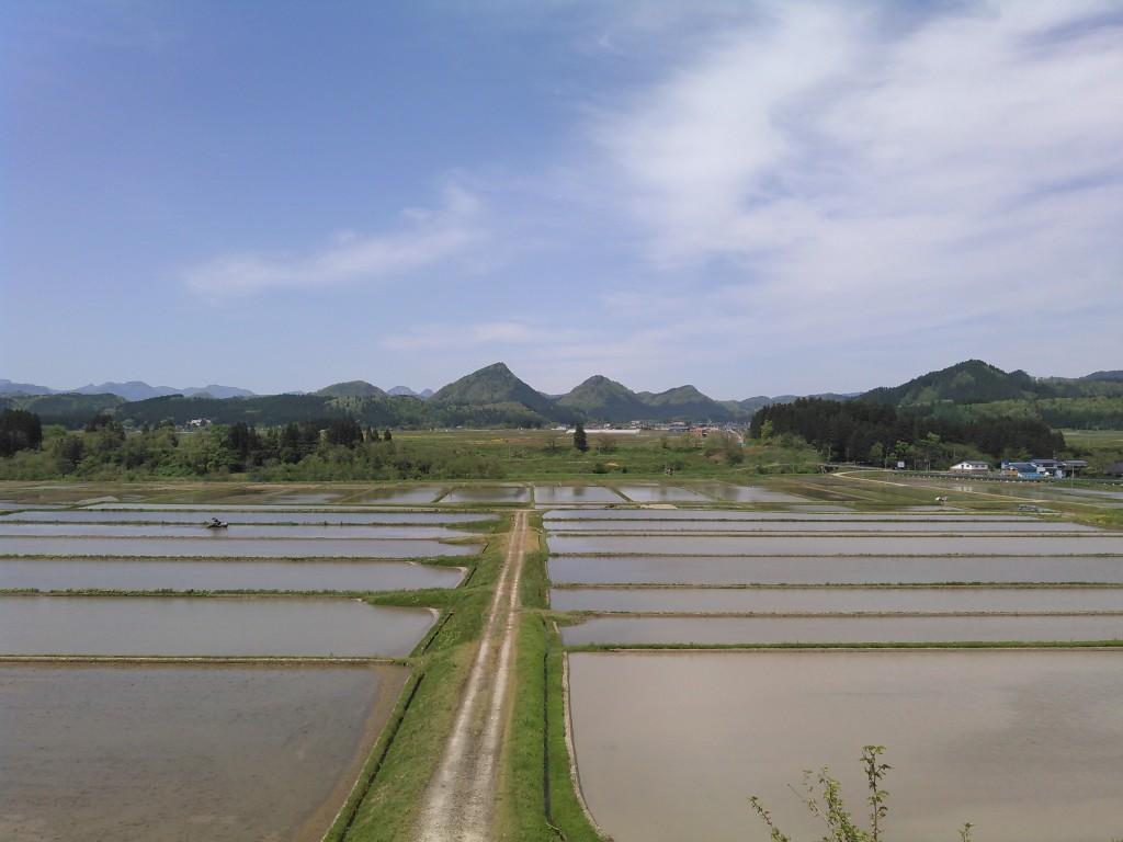 山形県金山町 田園風景