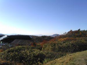 栗駒山荘付近の眺望 紅葉