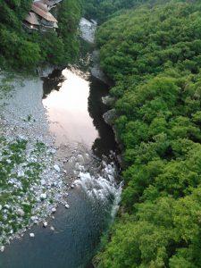 国道118号線 阿賀川