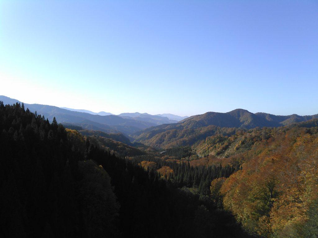 栗駒山麓 眺望 栗駒大橋から