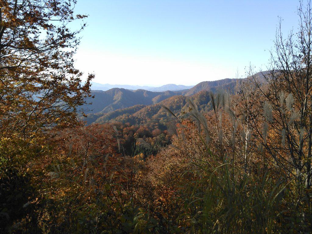 栗駒道路 眺望 紅葉