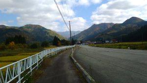 県道73号線 紅葉